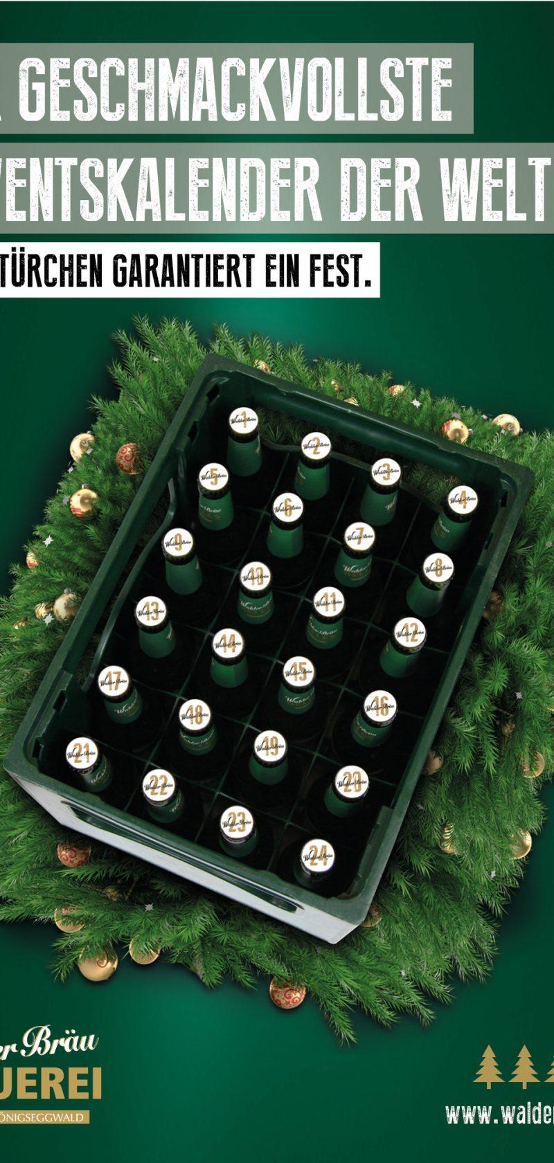 WalderBräu startet geschmackvoll in die Weihnachtszeit.