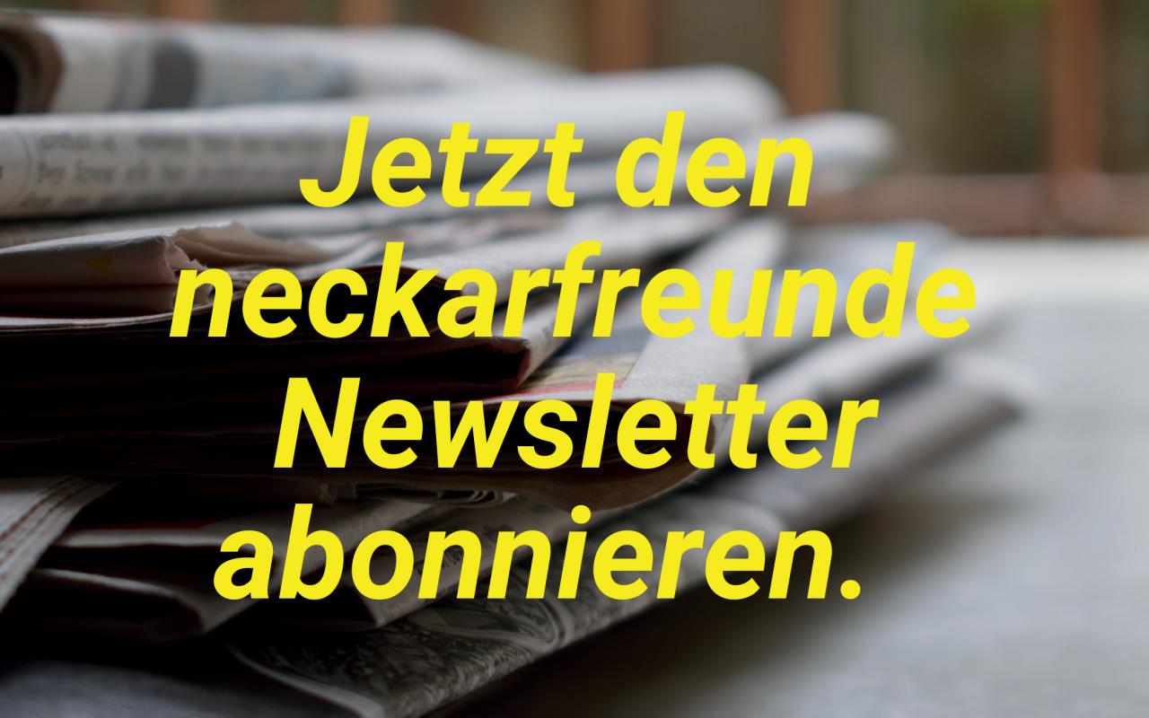 neckarfreunde newsletter