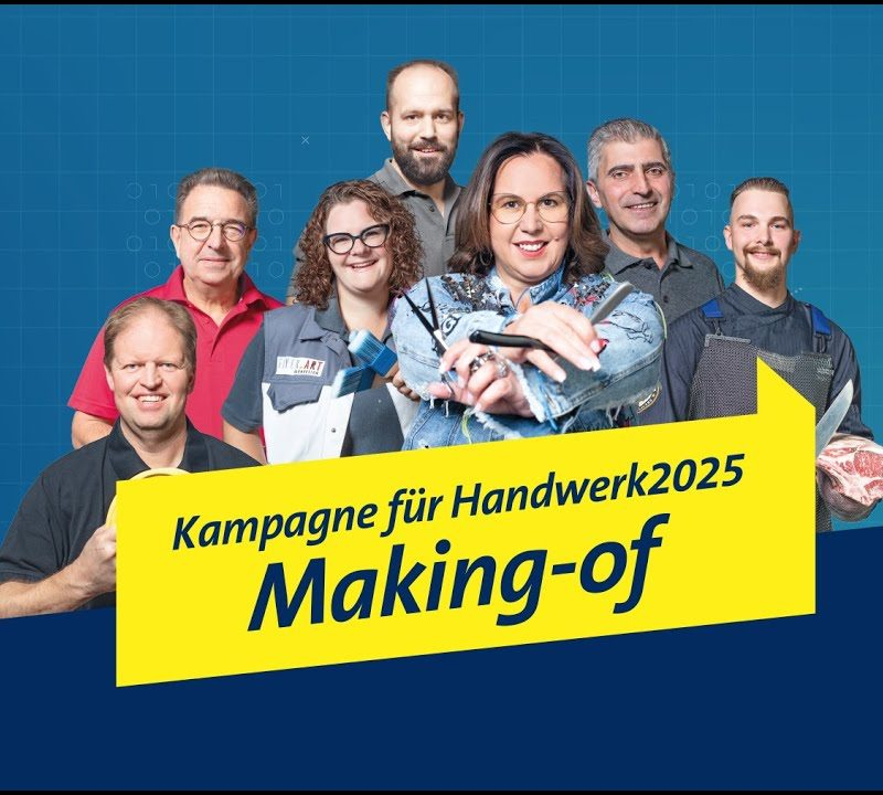 Handwerk2025 - </br>The Making-of Campaign.